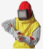 Фото - Защитный шлем оператора пескоструйной очистки Contracor COMFORT