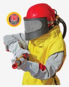 Фото - Защитный пескоструйный шлем для оператора Contracor Aspect – недорогое приспособление для максимальной защиты оператора