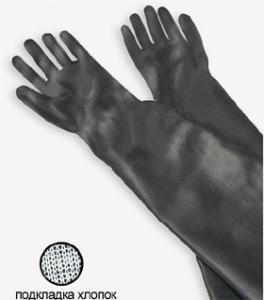 Фото - Перчатки для абразивоструйных кабин типа RGS