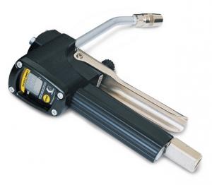 Фото - Электронный цифровой расходомер для консистентной смазки