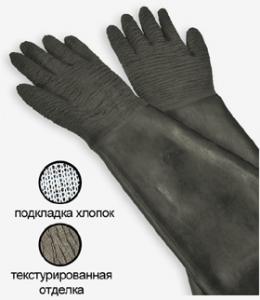 Фото - Перчатки для абразивоструйных кабин типа RGA